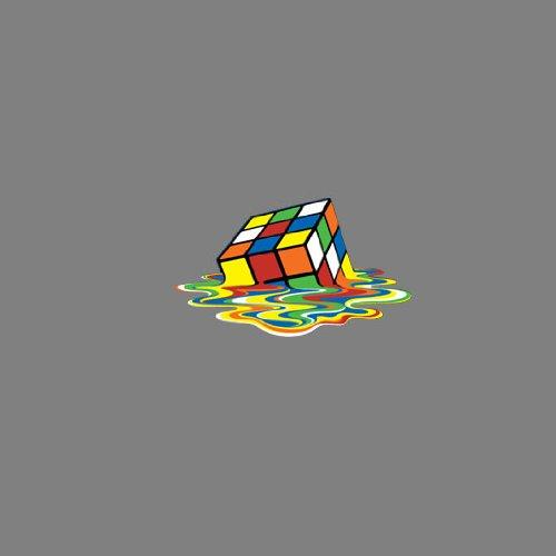 TBBT: Melting Cube - Stofftasche / Beutel Weiß
