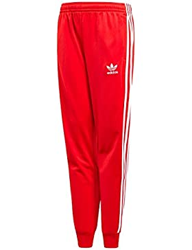 Adidas CF8560 Pantaloni Da Tuta Bambino Rosso 13/14A