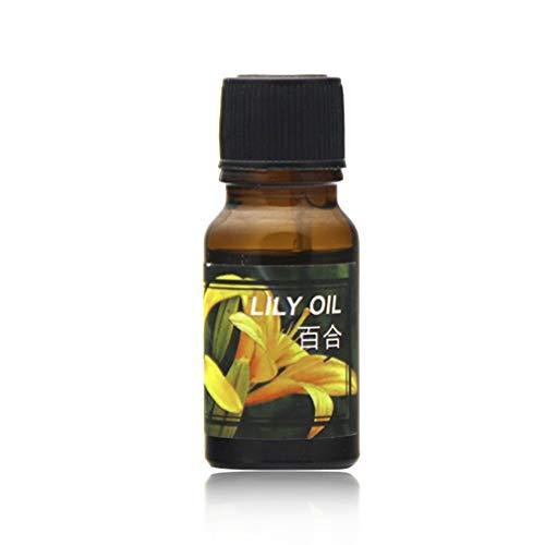 DERNON 10ml natürliche Formel Reine ätherische Öle für Aromatherapie-Diffusoren Luftbefeuchter transparent