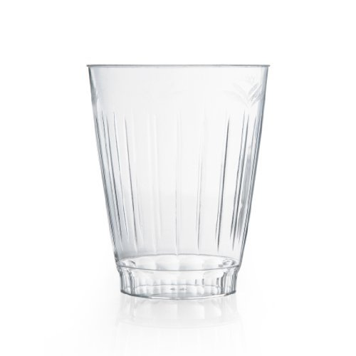 Classic Clear Rigid Plastic Round 10 oz. Tumblers - 16 Count by Blue Sky - Classic Clear Tumbler
