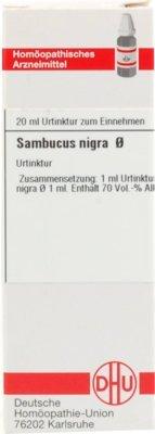 Sambucus Nigra Urtinktur 20 ml