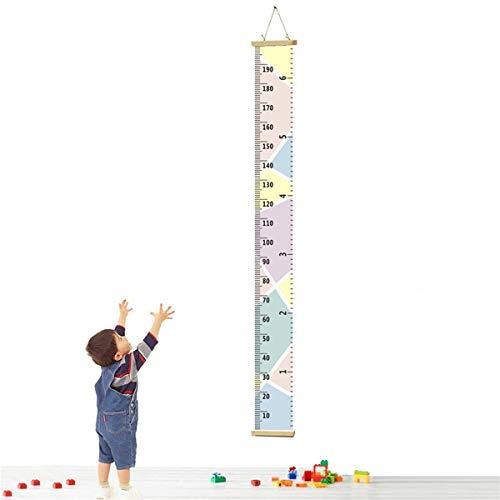 Kinder Messlatte, Kinder Messlatte Wachstum Wall Chart Höhe Diagramm Art zum Aufhängen Herrscher für Kinder Schlafzimmer Kinderzimmer Wandtattoo Decor Abnehmbare Höhe und Wachstum Diagramm (Macaron A) (Wandtattoo-höhe-diagramm)