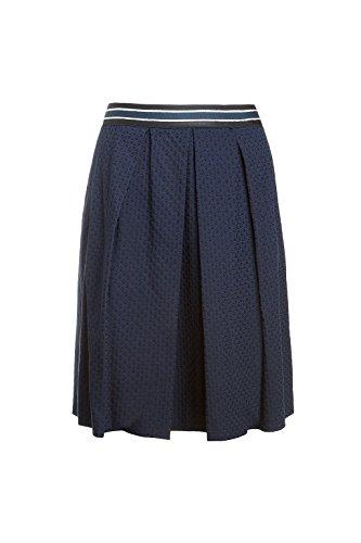 Oltre: gonna donna, linea svasata in tessuto jacquard. (Italian size) Blu