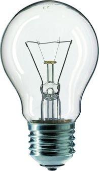 Normallampe 25 Watt E27 klar - Philips 25W 230 Volt Birne Glühlampe von Philips bei Lampenhans.de