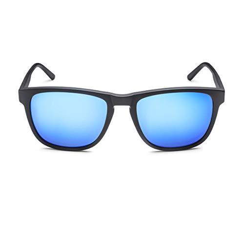 Audi 3111800300 Sonnenbrille, blau/schwarz