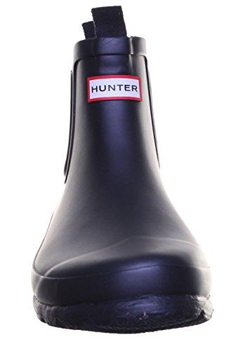 Hunter Orig J Chelsea Junior Gummi Stiefel Black RK1