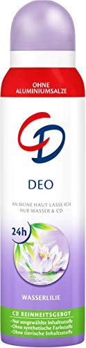 ilie - Deo Spray ohne Aluminium für 24 Std Schutz im Vorratspack - 6er Pack (6 x 150 ml) ()