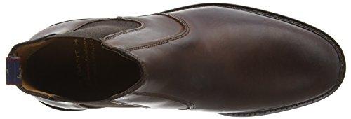 Gant Spencer, Bottes Chelsea courtes, doublure froide homme Marron - Braun (dark brown  G46)