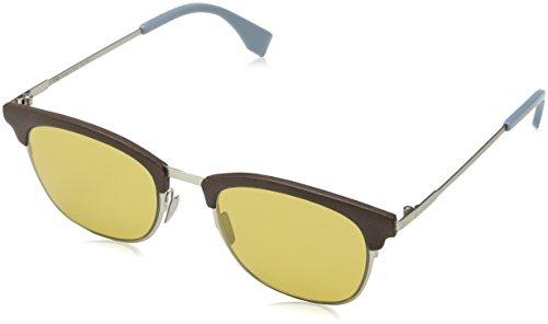 Fendi Herren FF 0228/S 70 4ES Sonnenbrille, Braun (Silv Brown), 50