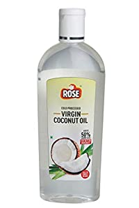 Rose Cold Processed Virgin Coconut Oil 200 ml