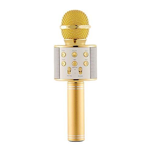 krofon Tragbare Drahtlose Mikrofon für Erwachsene und Kinder für Sprach- und Gesangsaufnahmen für PC, Laptop, iPad, Android ()