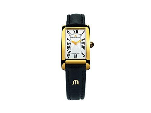 Maurice Lacroix Fiaba Rectangular Quartz Uhr, Silber, FA2164-PVY01-114-1