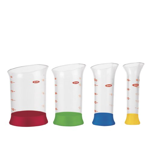 OXO Good Grips 4-Piece Mini Measuring Beaker Set by OXO Cook's Tools Good Grips Tool