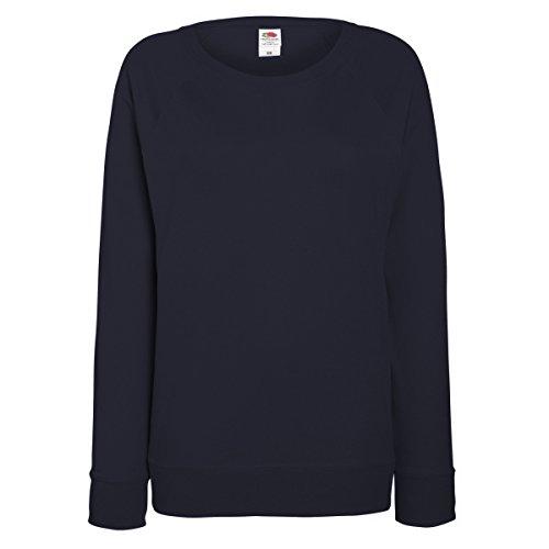 Fruit of the Loom - Sweatshirt à manches raglan - Femme Bleu marine profond