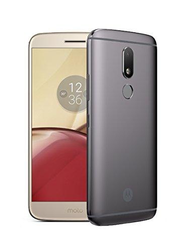 Lenovo Moto M SIM doble 4G 32GB Oro, Gris - Smartphone (14 cm (5.5