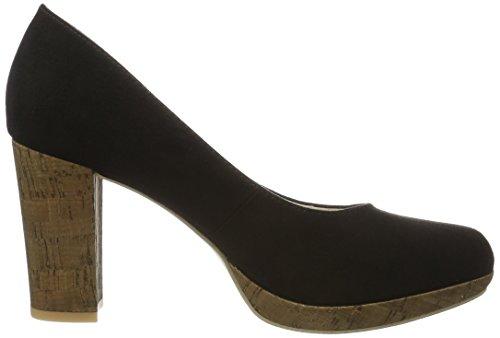 s.Oliver 22409, Escarpins Femme Noir (BLACK 001)