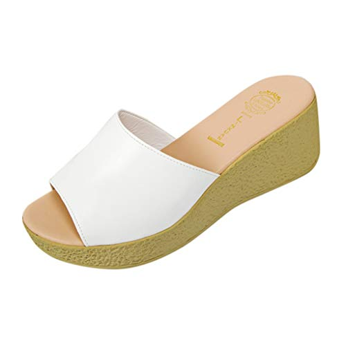 Sanahy Damen Mode Sommer Mädchen Sandalen Frau Strand Sommer Schuhe Wohnung Komfortable Sandwich Toe Leck Flops -
