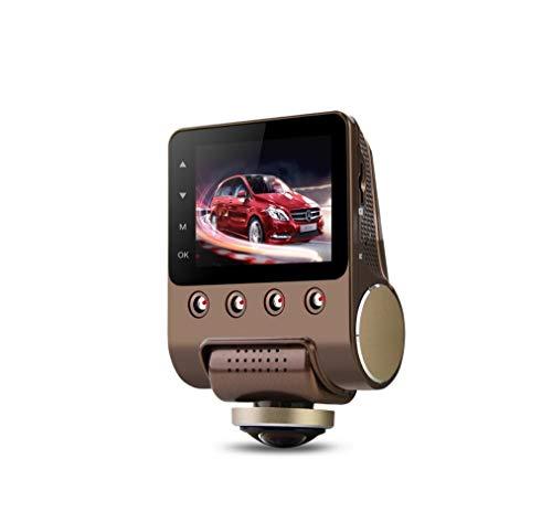 LWTOP Auto-Kamera automatische hintere Panorama 360-Grad-Fahren Recorder versteckte HD-Nachtsicht WiFi-Überwachung