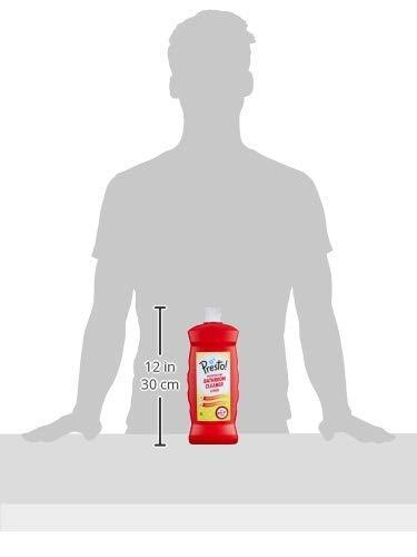 Amazon Brand - Presto! Bathroom Cleaner - 500 ml (Lemon, Pack of 2)