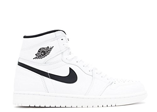 Nike Air Jordan 1 Retro High Og, Scarpe da Basket Uomo white/black-white
