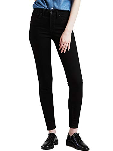 Levi\'s Damen 310 Shaping Super Skinny Jeans, Schwarz (Black Galaxy 0003), 34W/32L