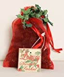 LUXURY SCENTED MINI CHRISTMAS PINE CONES SACHET - Christmas Spice - Blend of Cinnamon, Citrus & Festive Spices