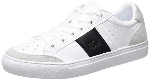 Lacoste Herren Courtline 319 1 Us CMA Sneaker, Weiß (White/Black 147), 40 EU