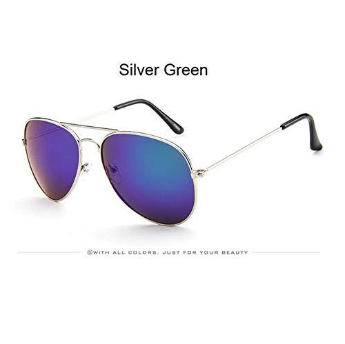 Occhiali da sole aviazione classici occhiali da sole donne uomini occhiali di guida telaio metallico maschio femmina rivestimento specchi retrò occhiali da sole uv400 blu occhiali polarizzati