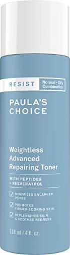 Paula's Choice Resist Anti Aging Repairing Gesichtswasser | Bekämpft Zeichen von Hautalterung für Unreine Haut | mit Niacinamid & Hyaluronsäure | Mischhaut bis Fettige Haut 118 ml