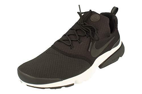 Nike Presto Fly Sneaker (EU 42.5 US 9 UK 8, Black/Black-White)