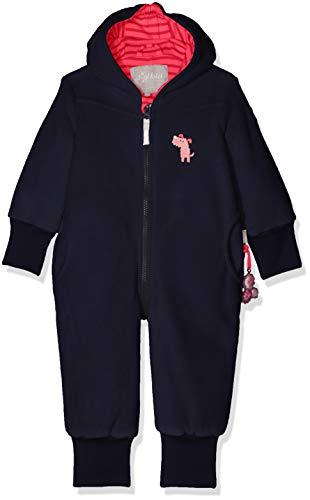 Sigikid Mädchen Fleece Overall, Baby Schneeanzug, Blau (Mood Indigo 275), 86