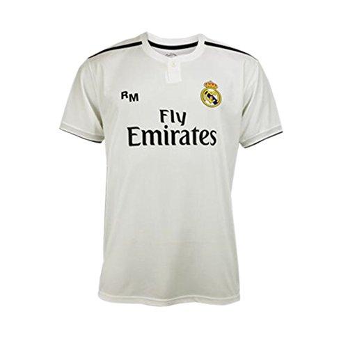 Camiseta 1ª Equipación Real Madrid 2018-2019 – Replica Oficial Licenciada –  Dorsal 7 Ronaldo c5d56b634e3