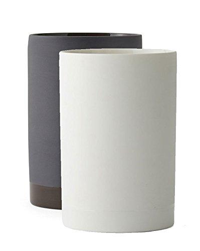 Menu – Cylindrical Vase S, weiß - 2