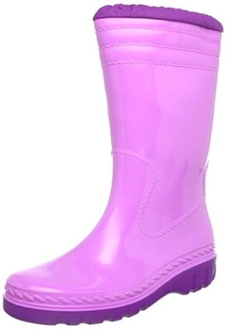 Romika Jupiter, Unisex-Kinder Halbschaft Gummistiefel, Pink (orchidee-fuchsia 570), 37 EU