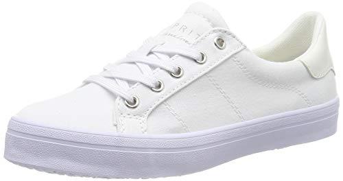 ESPRIT Damen Mindy LU Sneaker, Weiß (White 100), 38 EU