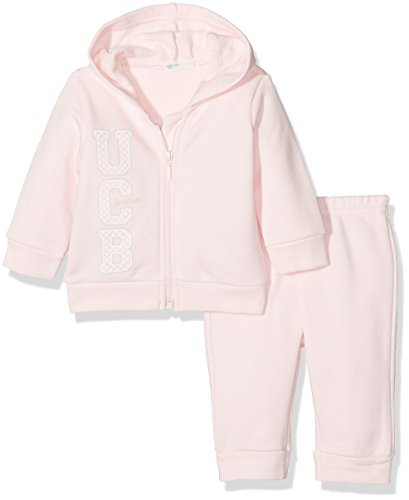 United Colors of Benetton 3J67MM186, Set Unisex-Adulto, Rosa (Lilac), 9 Mesi (Taglia Produttore: 68)