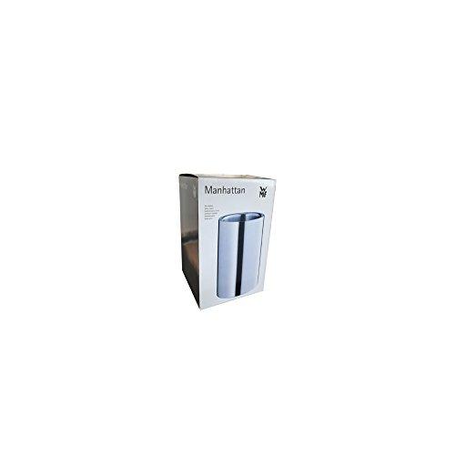 WMF Weinkühler, Sektkühler Manhattan, Edelstahl Cromargan mattiert, doppelwandig, H 19,5 cm, Ø 12 cm - 4