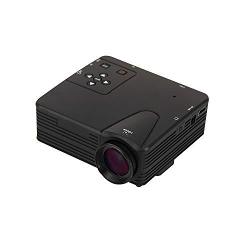 Sguan-wu HD 1080P LED-Projektor 400 Lumen Multimedia-USB-TV-AV-HDMI-Schule-Heimkino - Schwarz * US-Stecker