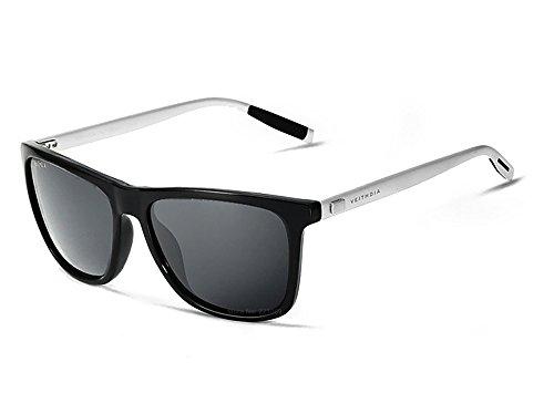 lunettes de soleil Polarized UV400 Sports Lunettes de soleil pour Outdoor Sports Driving Pêche Running Skiing Escalade Randonnée Convient pour les hommes et les femmes Vente bon marché (TJ-025) (F) L4Vu2PiNxV
