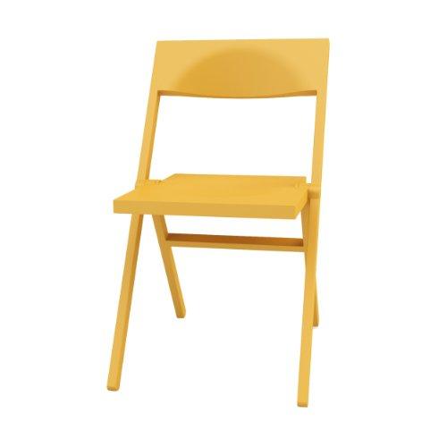 Alessi Piana Klappstuhl gelb