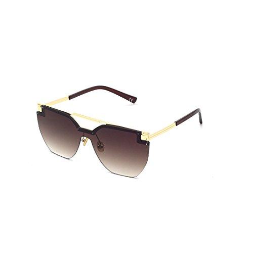 GUO Sonnenbrillen Mode Trend Split Sonnenbrille,