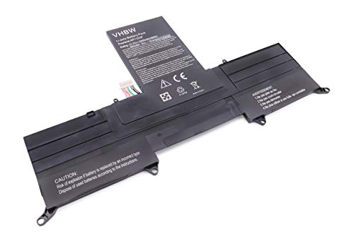 vhbw Li-Polymer Batterie 3200mAh (11.1V) pour Ordinateur Portable, Notebook Acer Aspire S3-951-2464G24iss, S3-951-2464G34iss comme BT.00303.026.