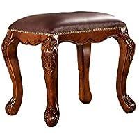 lanskaya classico stile europeo mobili in legno sgabello multifunzione Vanity Tavolo moderno camera da letto mobili