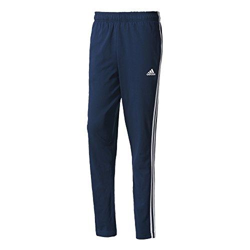 Adidas Ess 3S T PNT SJ, Hose azul (maruni / blanco)