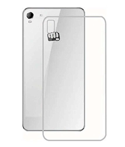 VAKIBO Transparent Soft Silicon Premium Back Cover Case For Micromax Canvas Fire 2 A104  available at amazon for Rs.125