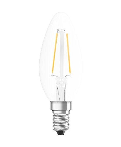 Osram Retrofit Cl Bombilla LED, E14, 1.1 watts, Blanco