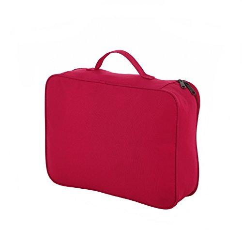 Rada Packhilfe CU/1 Kofferorganizer in verschiedenen Farben (schwarz) multicolor check