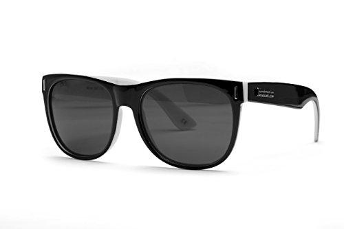Catania Occhiali Sonnenbrille Polarisiert - Wayfarer Stil Unisex Sonnenbrillen-Klassiker - inkl. Catania Brillenetui & Catania Brillentuch (Polarisierte Sonnenbrillen) (Deluxe Two Tone) (Wayfarer Two Tone Sonnenbrille)