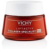 Vichy Liftactiv Collagen Specialist - Crema Notte Antirughe, 50ml