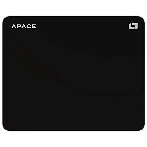 Lioncast Apace High Performance Hybrid Gaming Mauspad (400mm x 315mm, Hybrid-Stoff-Oberfläche, rutschfeste Silikonunterseite, wasserabweisend, abwaschbar) - Perfekte Oberfläche für Präzision -